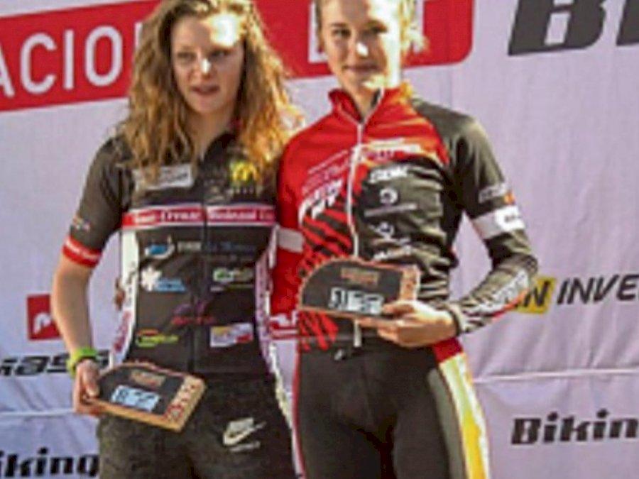 Podium UCI en Espagne pour Marine Philippe