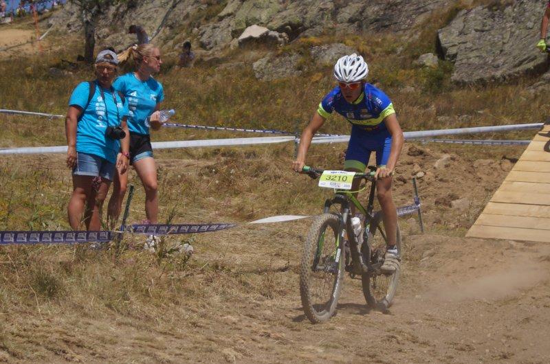 Florent catégorie cadet Alpe d'Huez 2020