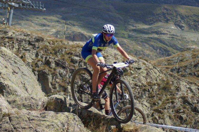 Gloria catégorie cadettes Alpe d'Huez 2020