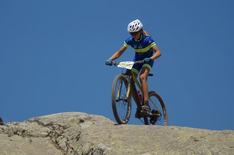 Pauline catégorie cadettes Alpe d'Huez 2020