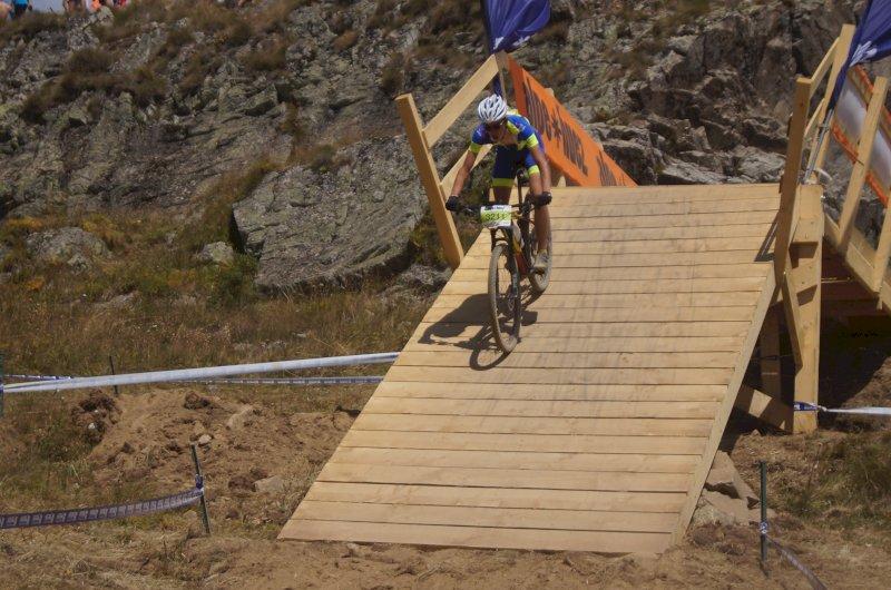 Pierrick catégorie cadet Alpe d'Huez 2020